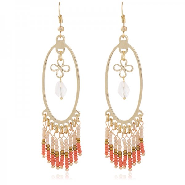 Earring Mimi -coral-