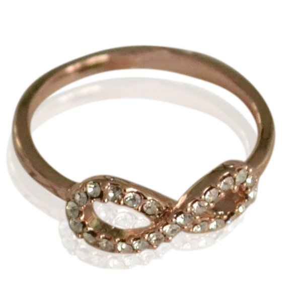 Ring Bling Infinity -#16 -ross-