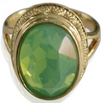 Ring Gea -green size18
