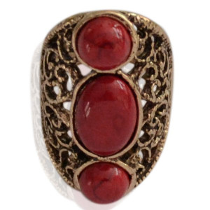 Ring Lisa -red- mt 17-