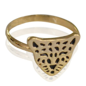 Ring Little Leopard -gold-