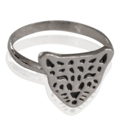 Ring Little Leopard -silver-