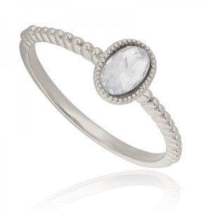Ring Little -white- #18