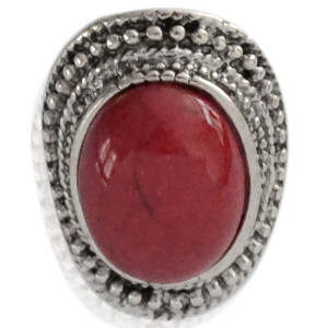 Ring Louise -rood- mt 18-