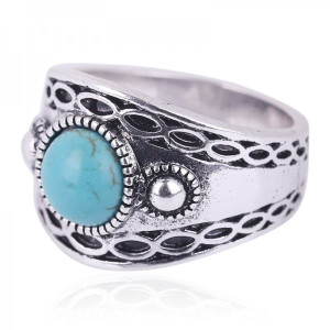 Ring Moho -turquoise- #19