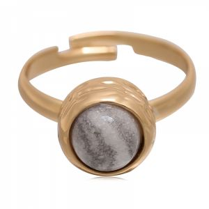 Ring small marble #17
