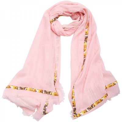 Scarf Camou -pink-