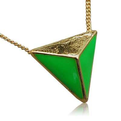 Necklace Green Dimension