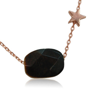 Ketting lucky stone