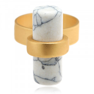 Ring Marble Bar size 18