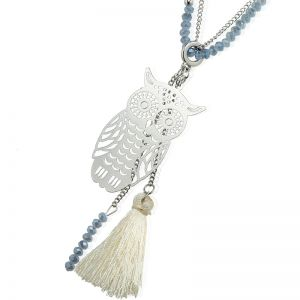 Necklace Bohemian Owl