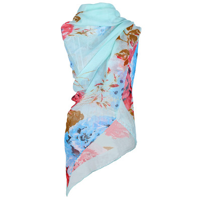 Scarf Summer Flowers