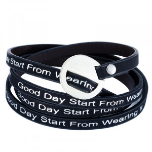 Bracelet Good day start from wearing it