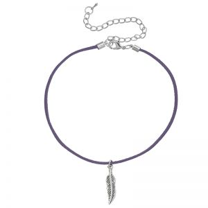 Collier Foulard Feather