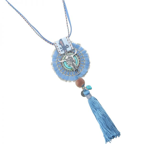 Necklace buffalo boho