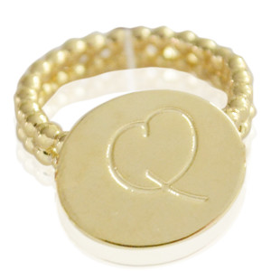 Ring Initial Q - size 18