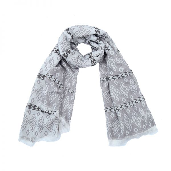 Scarf winter aztec