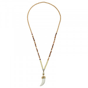 Necklace Bohemian Tooth
