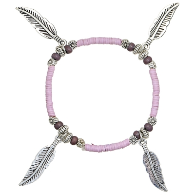 Armband Beads Feather