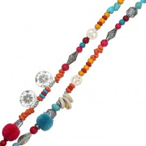 Necklace Beads Hippy
