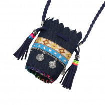 Necklace Boho Bag Tassel