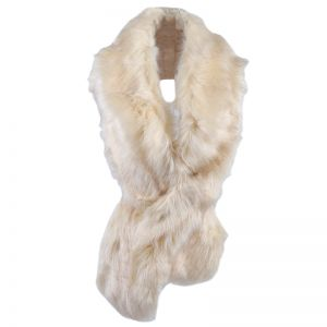 Scarf fake fur