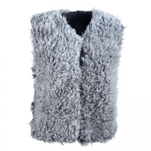 Gilet Fake Furry look
