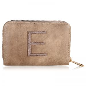 Wallet One Letter - E