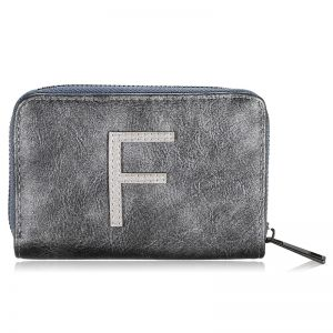 Wallet One Letter - F