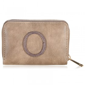Wallet One Letter - O