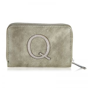 Wallet One Letter - Q