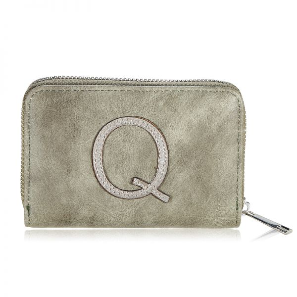 Wallet one letter- q