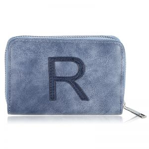 Wallet One Letter - R