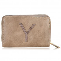 Wallet One Letter - Y