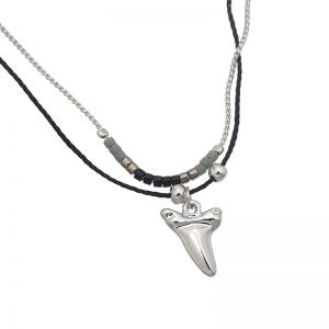 Kette  Indian Shark Tooth