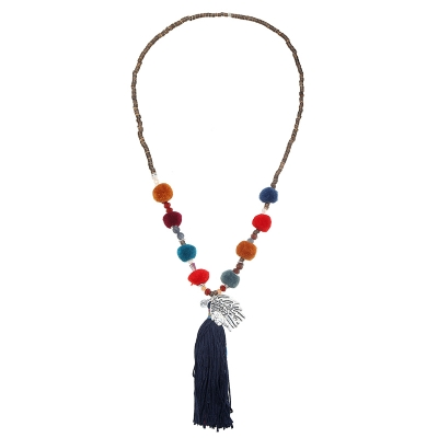 Collier Beads Indian Hippie