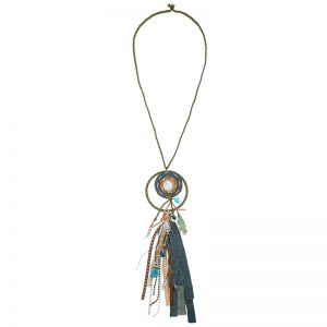 Necklace Indian Fall meets Jeans