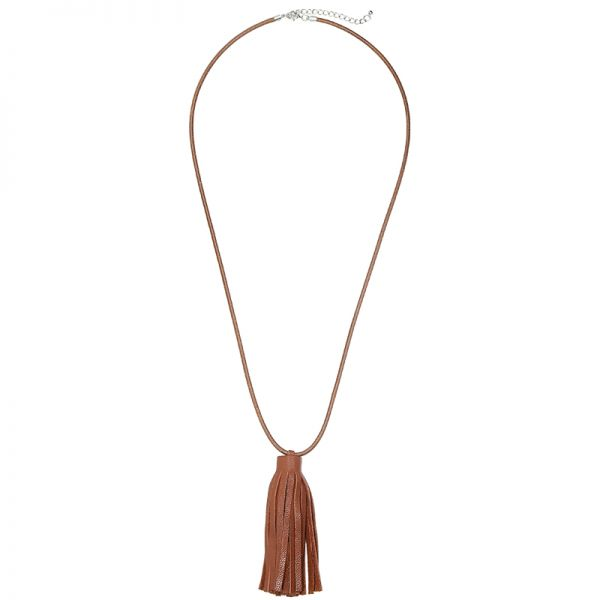 Collier Sansy -dark brown-