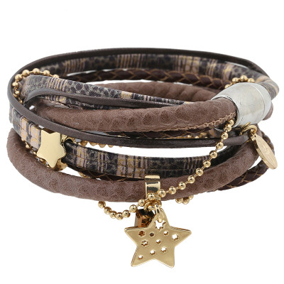 Armband Leather Love