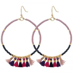 Boucles d'oreilles Indian Creol