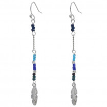 Earrings Indian Feather