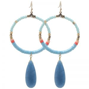 Boucles d'oreilles Colourful Beads