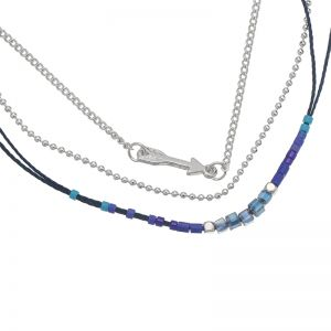 Necklace indian arrow
