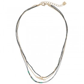 Necklace Indian Feather