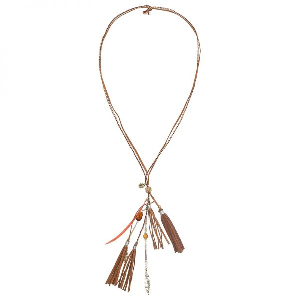 Necklace Ibiza Fall Fringes