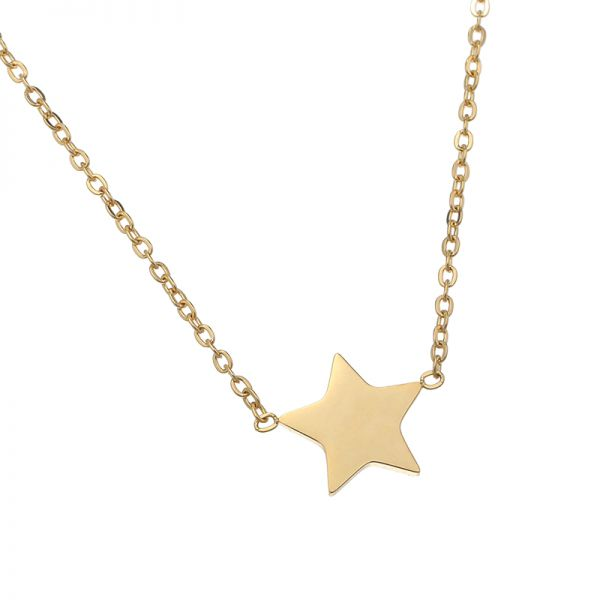Necklace beautiful star