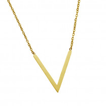Long Necklace Stark -gold-