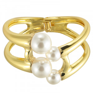 Bracelet White Pearls
