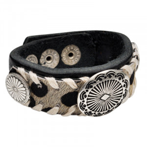 Armband Vintage Furry Leather