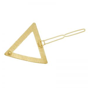 Hairclip golden triangle